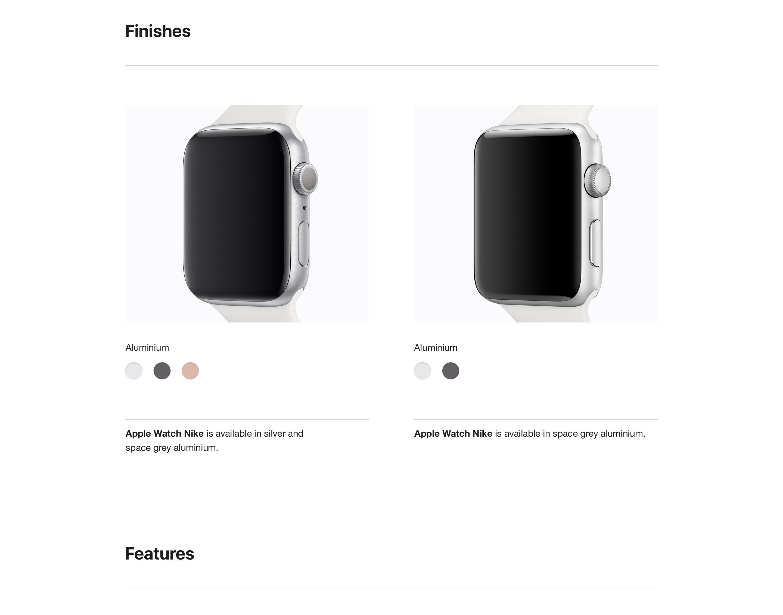 Apple Watch Compare